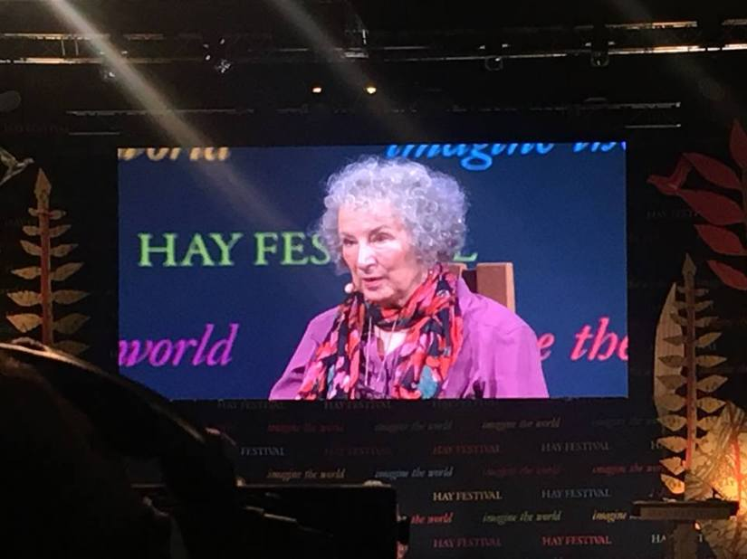 Margaret Atwood Hay Festival 2018 2