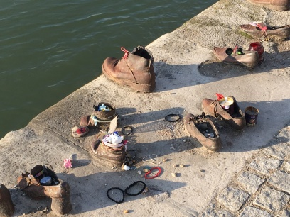 shoes on the danube, a budapest memorial