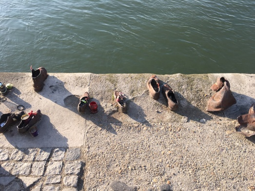 shoes on the danube - by can togay